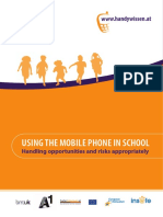 Using the Mobile Phone in School