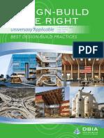 Best Design-Build Practices 2014