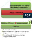 Aula11 - Protocolo IP