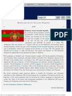 Moldavian Soviet Socialist Republic