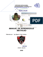 Manual de Aprendizaje MathCad i