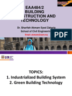 Topic 1 - Industrialized Building System (Ibs)