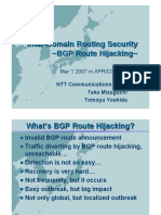 BGP Route Hijacking 0301