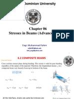 Chap 06- Stresses in Beams (Advanced Topics)