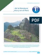 Origen en La Literatura en América y en El Perú