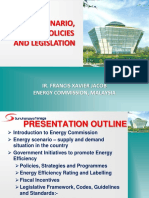 1. Energy Scenario, Energy Policies and Legislation