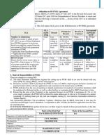 Addendum for SP-ITGK Agreement