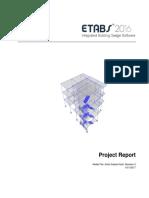 Project Report_ETABS 2016 v 16.0.3