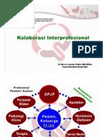 Kolaborasi Interprofesional Mei2015