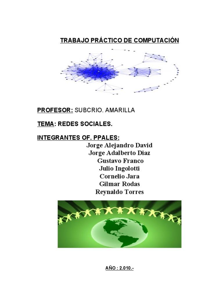 TRABAJO PRÁCTICO DE COMPUTACIÓN