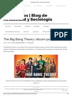 The Big Bang Theory_ Sitcom Posmodernista