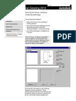 User's Guide - Formwork Drawings_ Opening List (Doors, Windows, Remaining Openings)