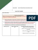 letter q lesson plan