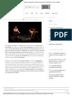 Maria Arnal i Marcel Bagés_ la práctica de la memoria a base de susurros y virguerías con la cuerda - SidesOut