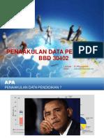 0 Pengenalan Penaakulan Data
