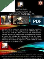 Investigacion de Incendios Forestales
