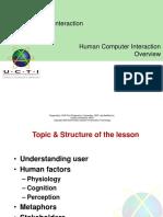 3 Human Factors