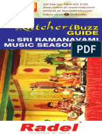 Sri Ramanavami Music Festival 2018 Schedules