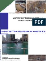 Modul-8 Dewatering Dan Sistem Pompa Air