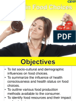 Factors in Food Choices PPT
