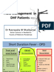 Fluid Management in Dhf Dr Rm Mudiyanse1