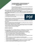 1. Pauta Del Informe Diagnostico - Practica Profesional 2016-1