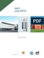 Regulamento Premio Secil Arquitetura 2012