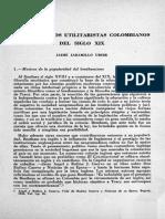 Bentham y El Positivismo en Colombia