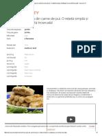 Savuros.tv Crenvurști de Casă Din Carne de Pui. O Rețetă Simplă Și Sănătoasă Ce Merită Încercată! - Savuros
