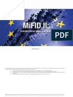 ASIFMA MiFID II Extraterritoriality Analysis - September 2017