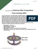 Malaysia Wau Competition 2