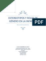 Estereotipos y Roles de Género PDF