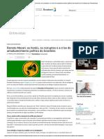 Renato Mezan_ Os Heróis, Os Corruptos e a Crise Do Amadurecimento Político Do Brasileiro