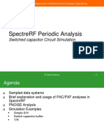 Cadence SpectreRF Periodic Analysis