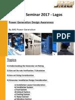 diesel generator plant design