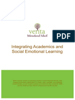 Integrating Academics and Social Emotional Learning  - Verita International School