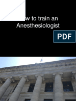 how to train anesthesiologist.ppt