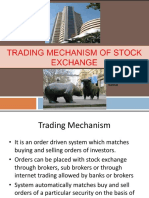 Trading Mechanism