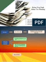 Beban Non Pajak Dalam Tax Planning