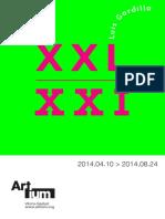 Folleto - XXL-XXI - Luis Gordillo - Artium