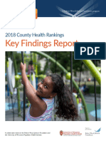 2018 County Health Rankings Key Findings Report