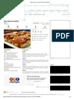 Pizza Caseira de Sardinha, Receita Petitchef