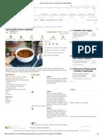 Sopa de Grão de Bico e Espinafre, Receita Petitchef