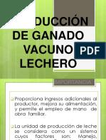 Produccion Vacuno Leche