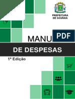 Manual de Despesas