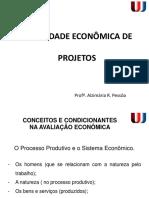 Viabilidade Econômica - Aula III