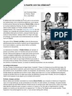 Elcultural.com-Los Fragmentarios a Muerte Con Los Clásicos