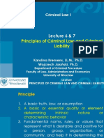 LLB - Principles of Criminal Law