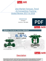 Control Valve Market Forecast, Trend Analysis & Competition Tracking - Global Review 2017 to 2026