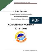 Buku Panduan Komurindo-Kombat 2018-2019